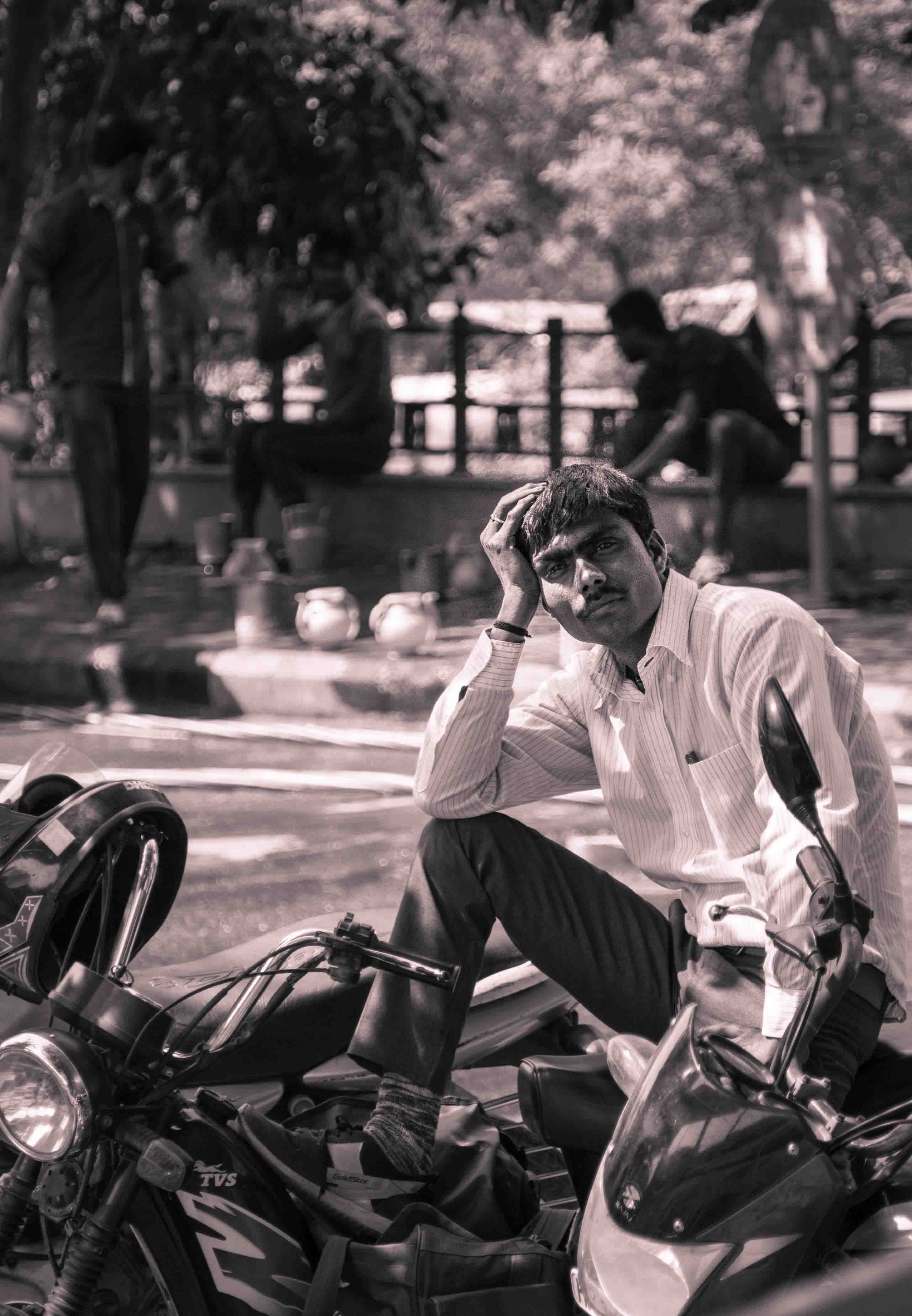 Delhi (B & W)